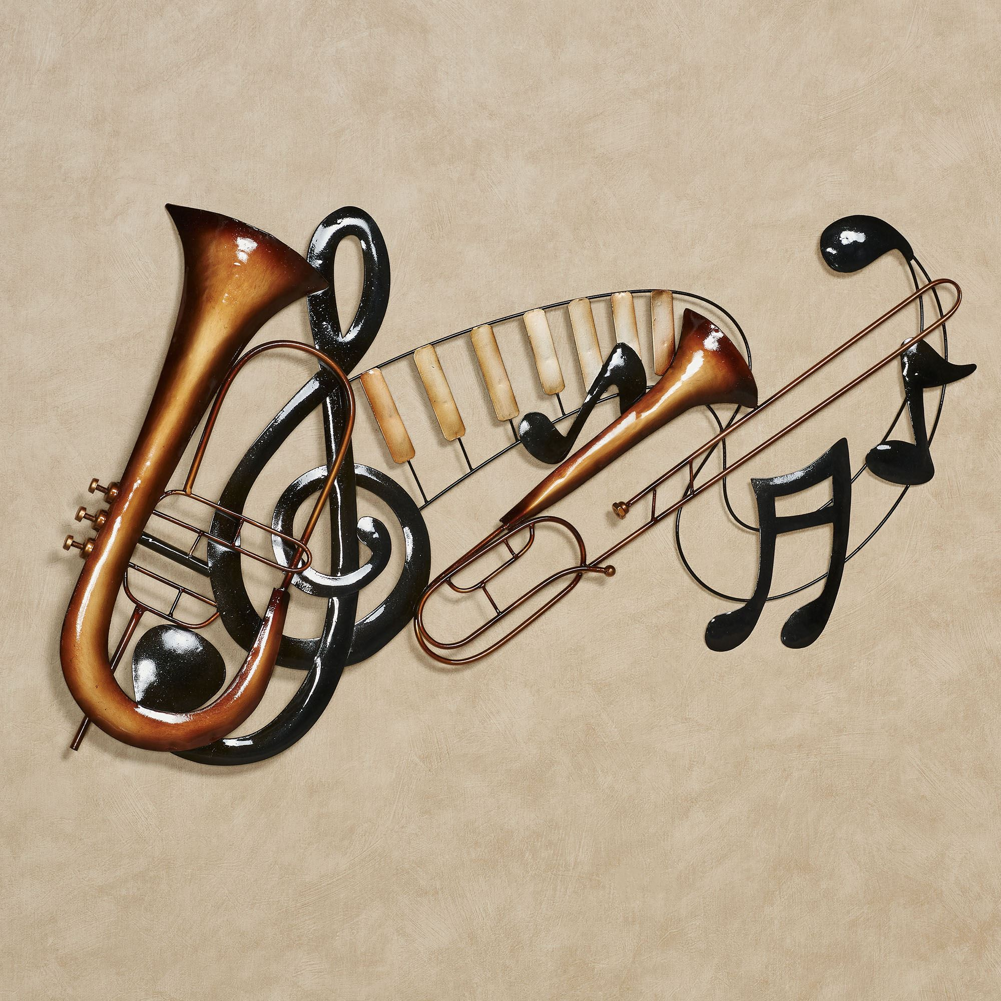 Metal Music Wall Art Musical Interlude Metal Wall Art