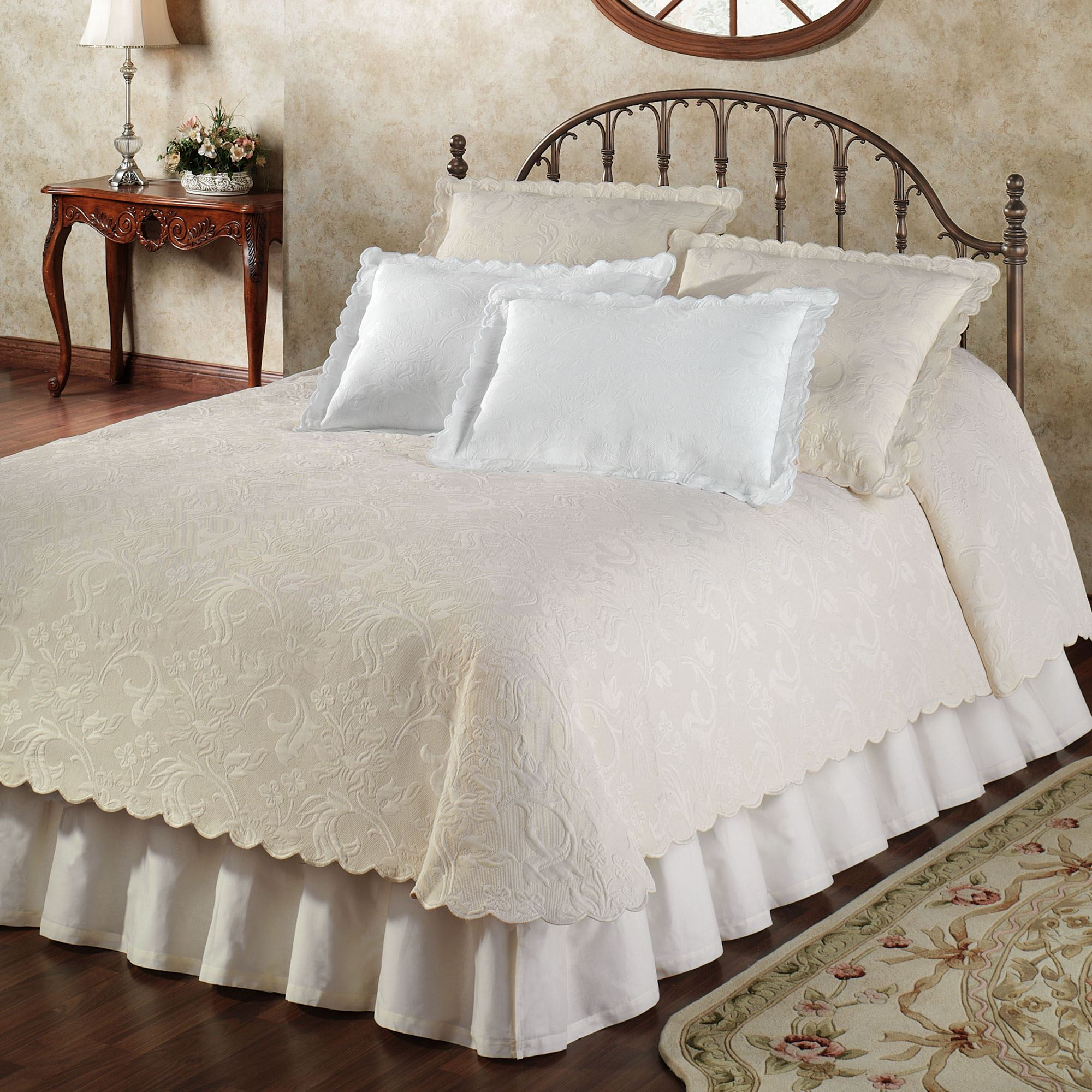 Coverlets For Sale Botanica Woven Matelasse Coverlet Bedding By Belle Epoque