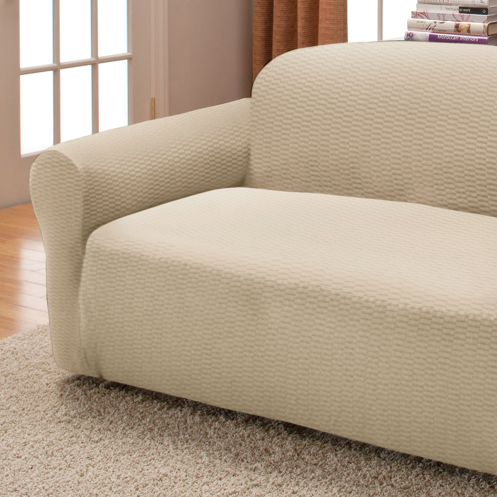 Grey Sofa Slipcover Raise The Bar Stretch Sofa Slipcovers