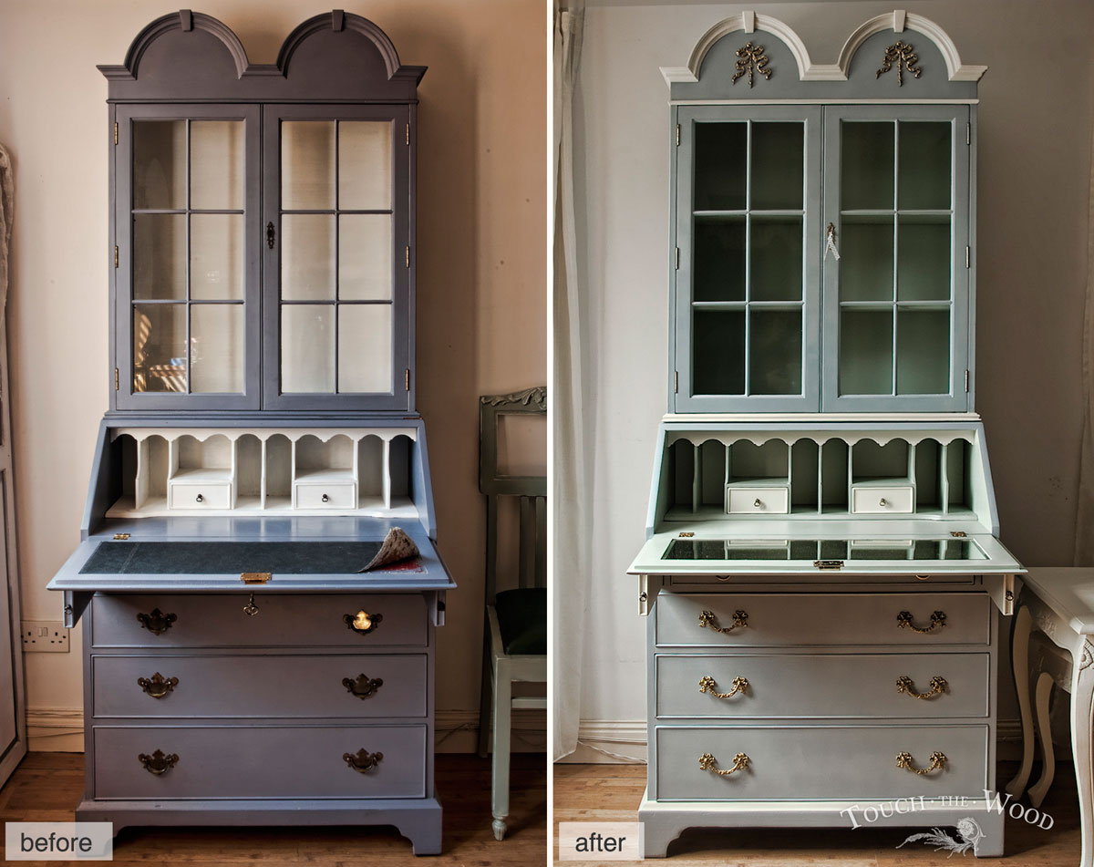 Meuble Tv Style Romantique From Ugly To Cute Shabby Chic Furniture Makeover Touch