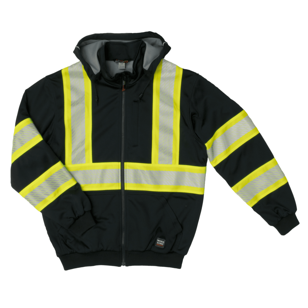 Work King Freezer Jacket Tough Duck Thermal Lined Hoodie Tough Duck