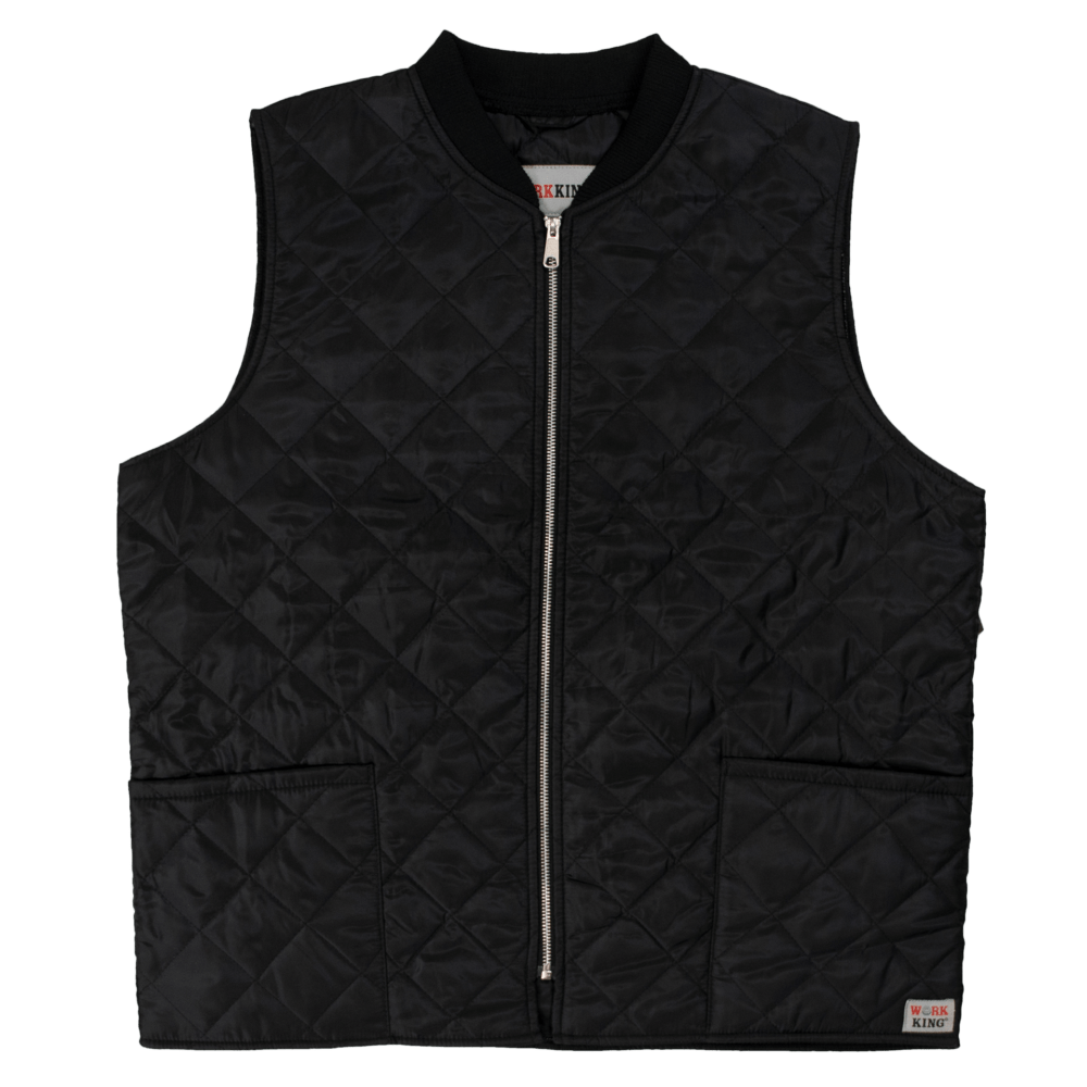 Work King Freezer Jacket Tough Duck Work King Quilted Freezer Vest Tough Duck