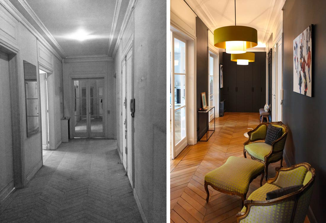 Architecte Renovation Haussmannien Rénovation D Un Appartement Haussmannien De 230m2 Créateurs D