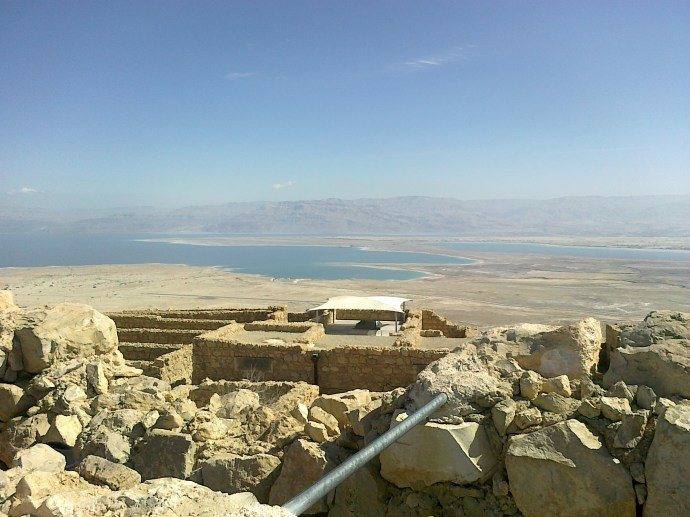 View from atop Masada