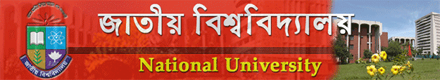 National University Release Slip Admission Notice 2012-13|www.admission.nu-bd.net