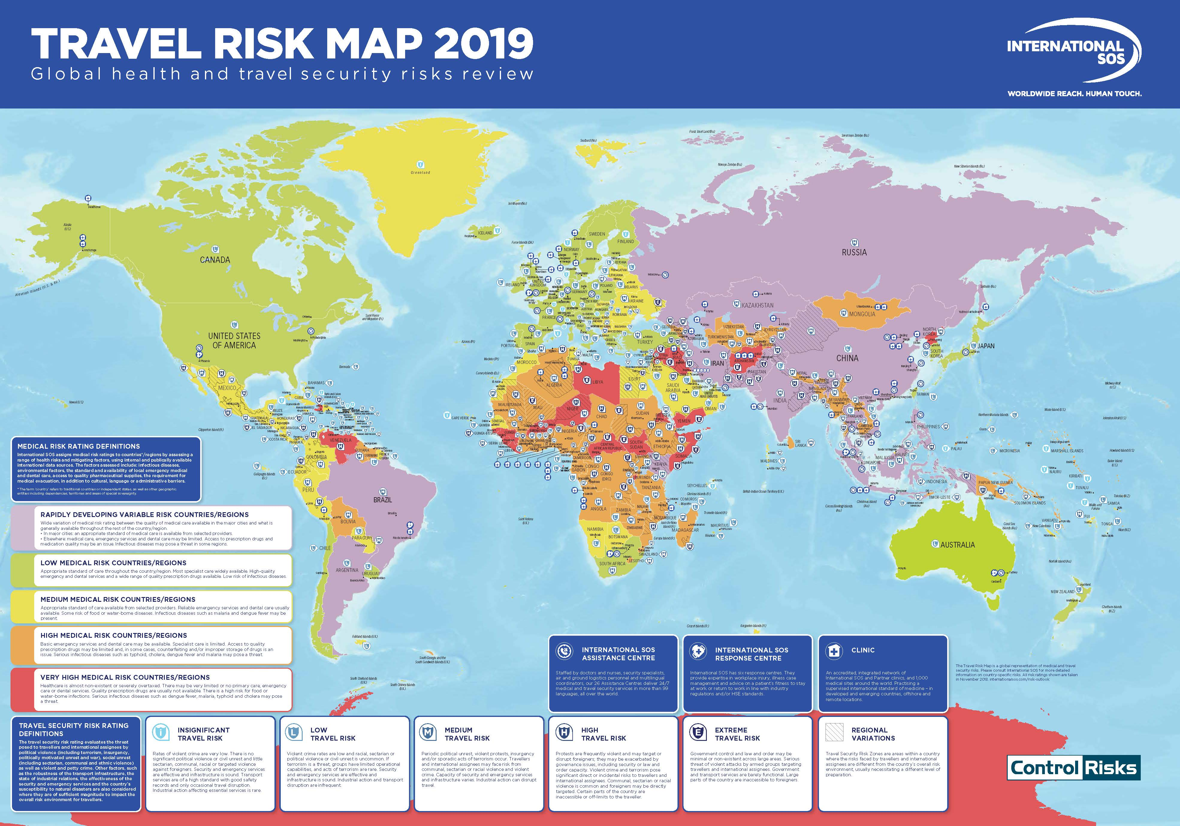 Travel Blog With Map Travel Risk Map 2019 Iran As Safe As Uk Canada Tours Of