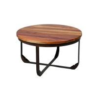 Table basse en bois et mtal TONS - Univers Salon ...