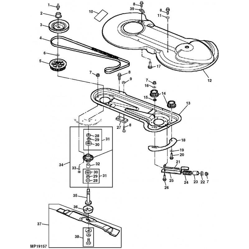John Deere Schema Moteur Tondeuse - Auto Electrical Wiring ... on