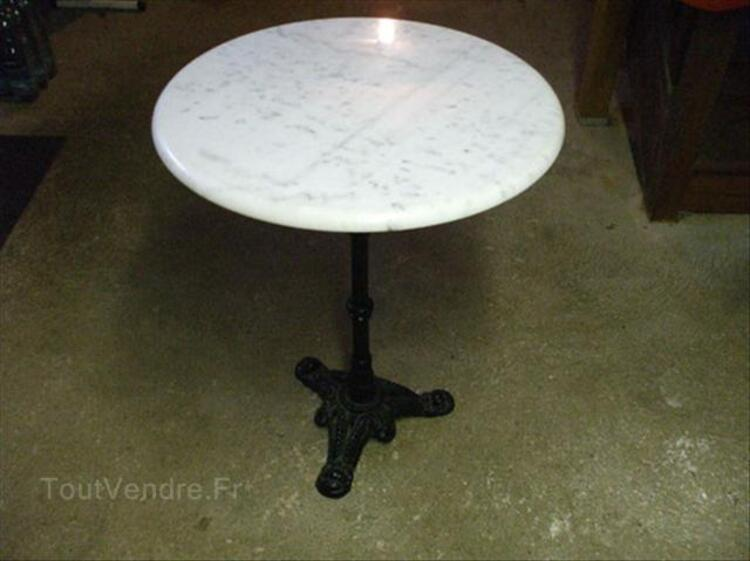 Table Bistrot Pied Fonte Ancienne Table Bistrot En Marbre Abancourt 60220 Ameublement
