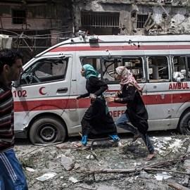 Gaza's healthcare system shattered
