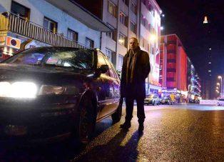 """Joachim Król als Kriminalhauptkommissar Frank Steier in der hr-Tatort-Produktion """"Der Eskimo"""" Foto: hr/Bettina Müller"""
