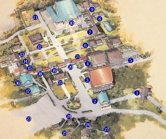 總持寺 マップ