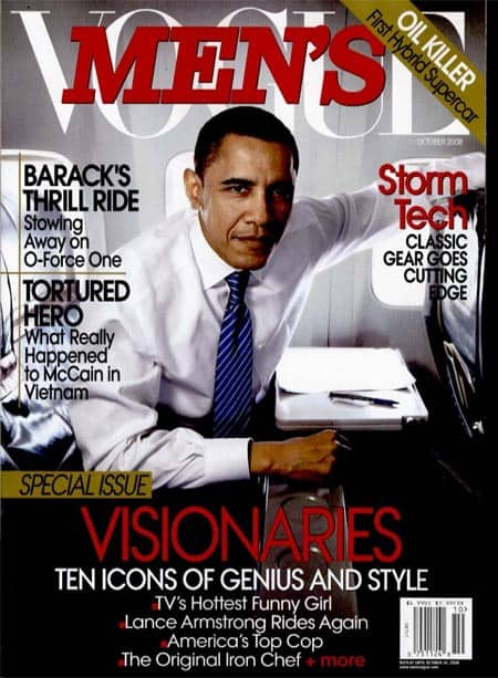 Obamamensvogue