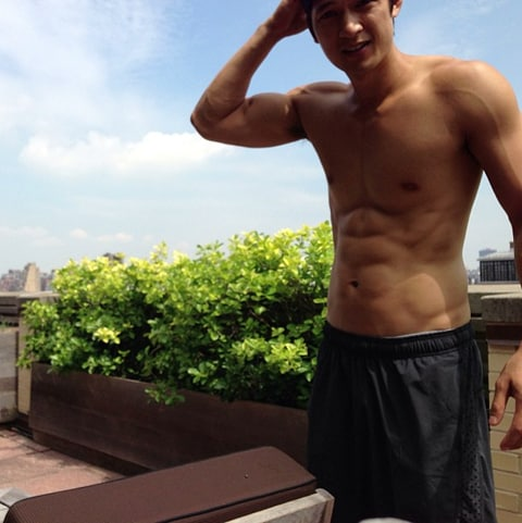 Harry Shum Jr. Shares His 'Humidity Naked Time' on ...