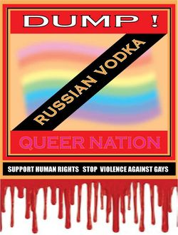 Queer Nation Vodka Ban