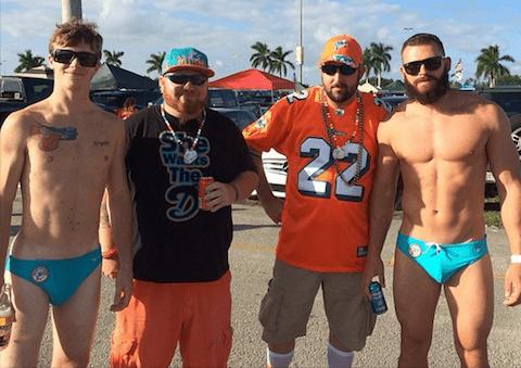Dolphins Speedo Fans