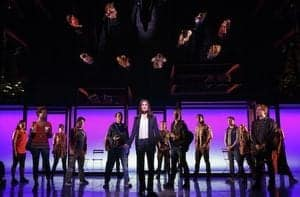Idina Menzel and IF THEN Cast Photo By Joan Marcus