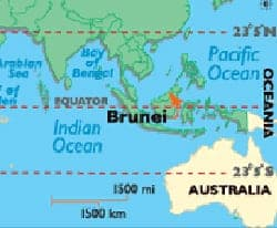 Brunei_map