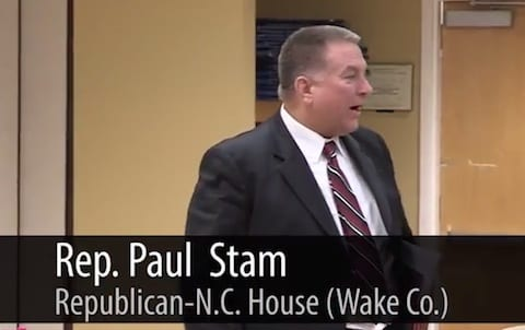 Paul stam rep north carolina