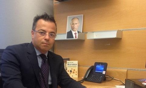 Gianluca Buonanno and Putin