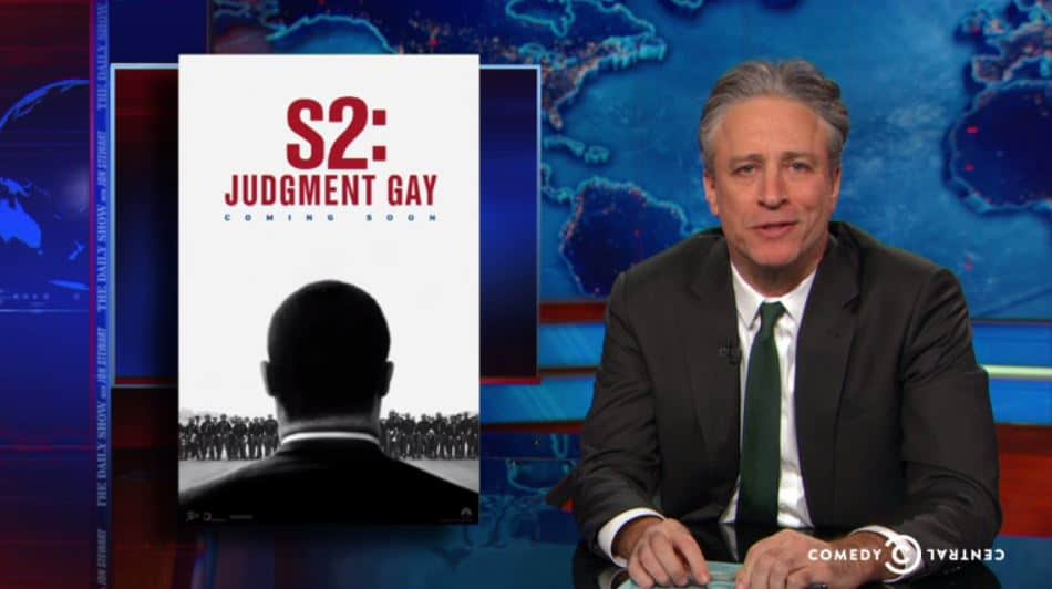 Daily show jon stewart homosexual gay therapy