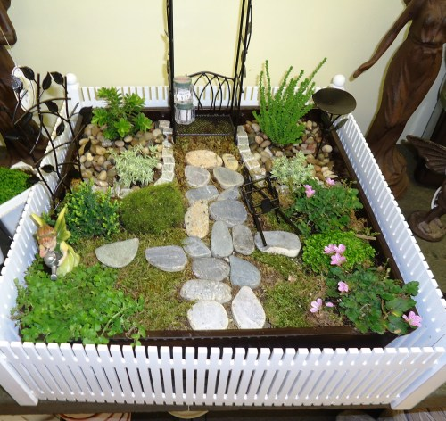 Medium Of Fairy Garden Train