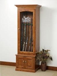 Cabinet Door  Glass For Gun Cabinet Door Photographs ...