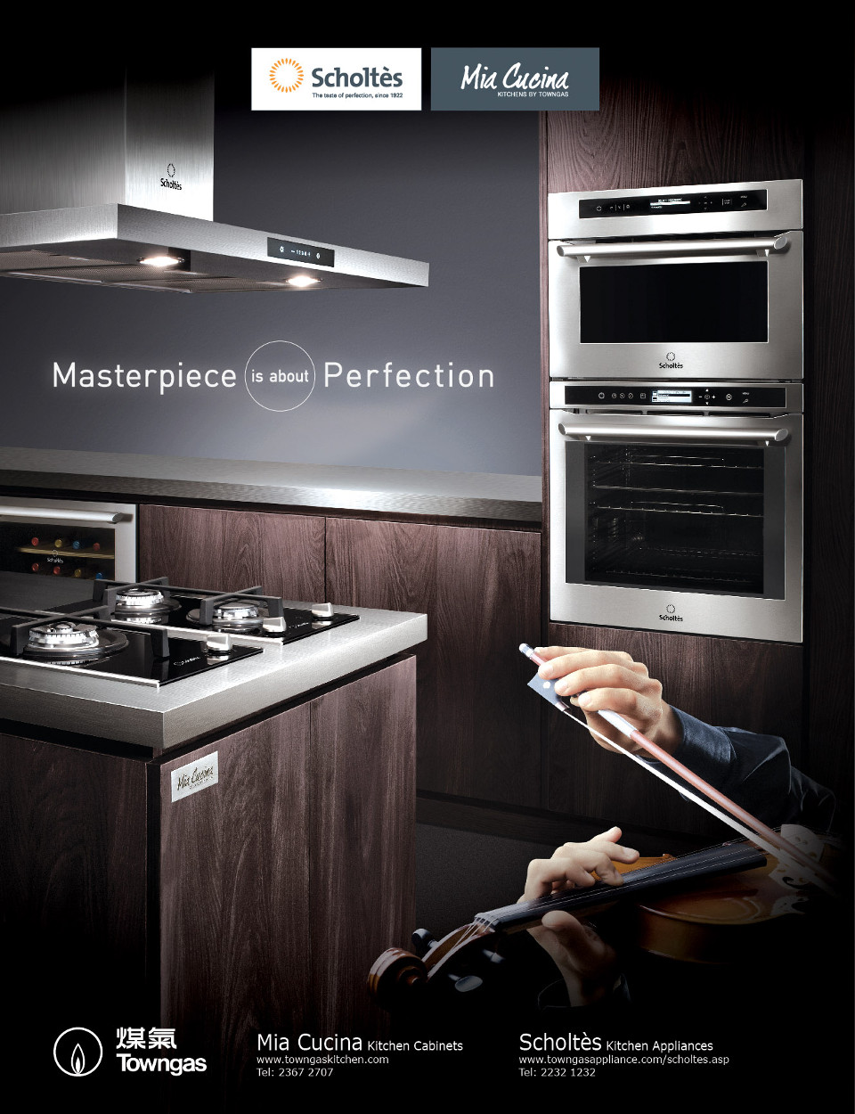 Cucina Kitchen Appliances Scholtès And Mia Cucina Join Hands To Launch First Tv Commercial