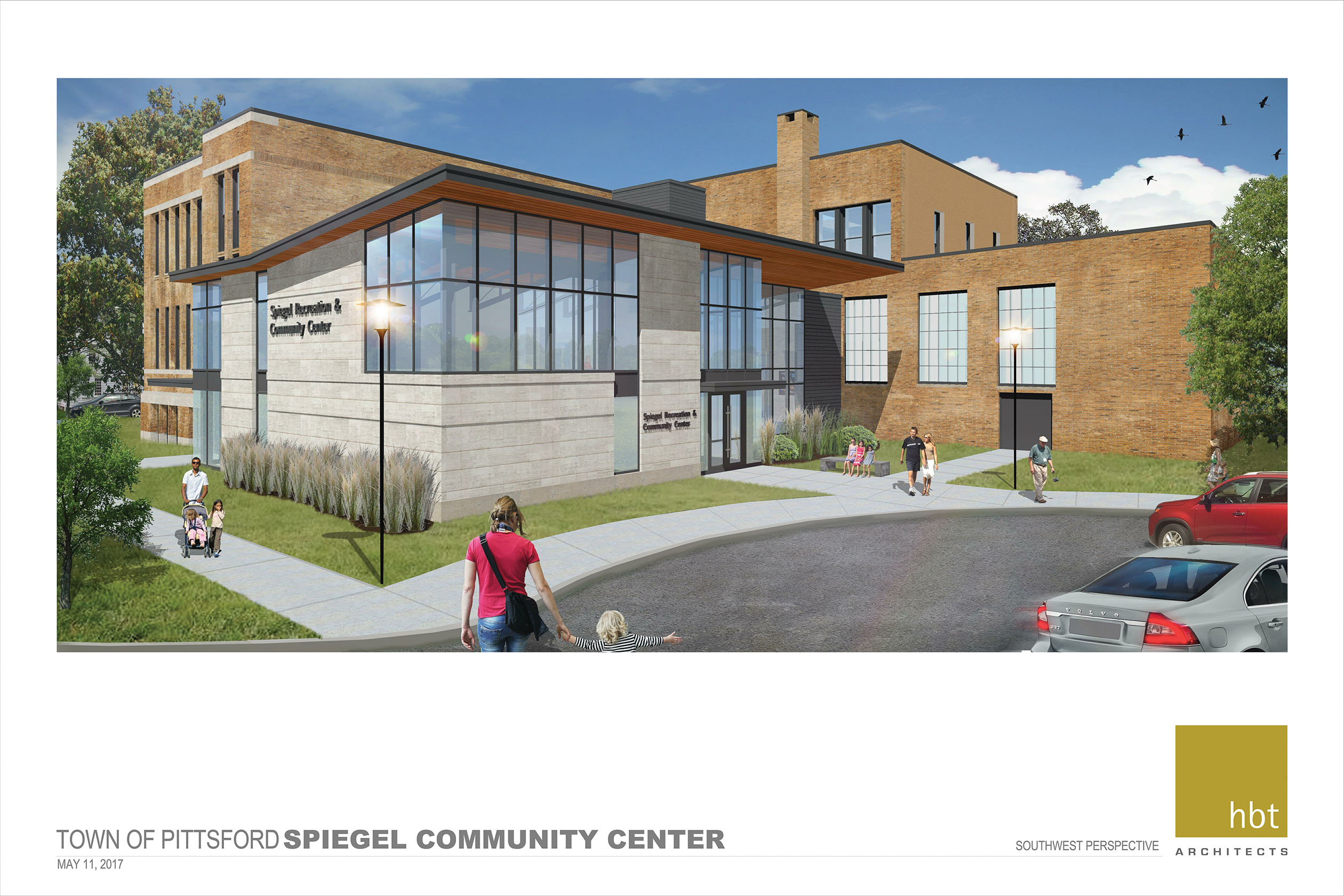 Spiegel. Community Center Project Town Of Pittsford New York