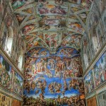 The Sistine Chapel in Vatican City
