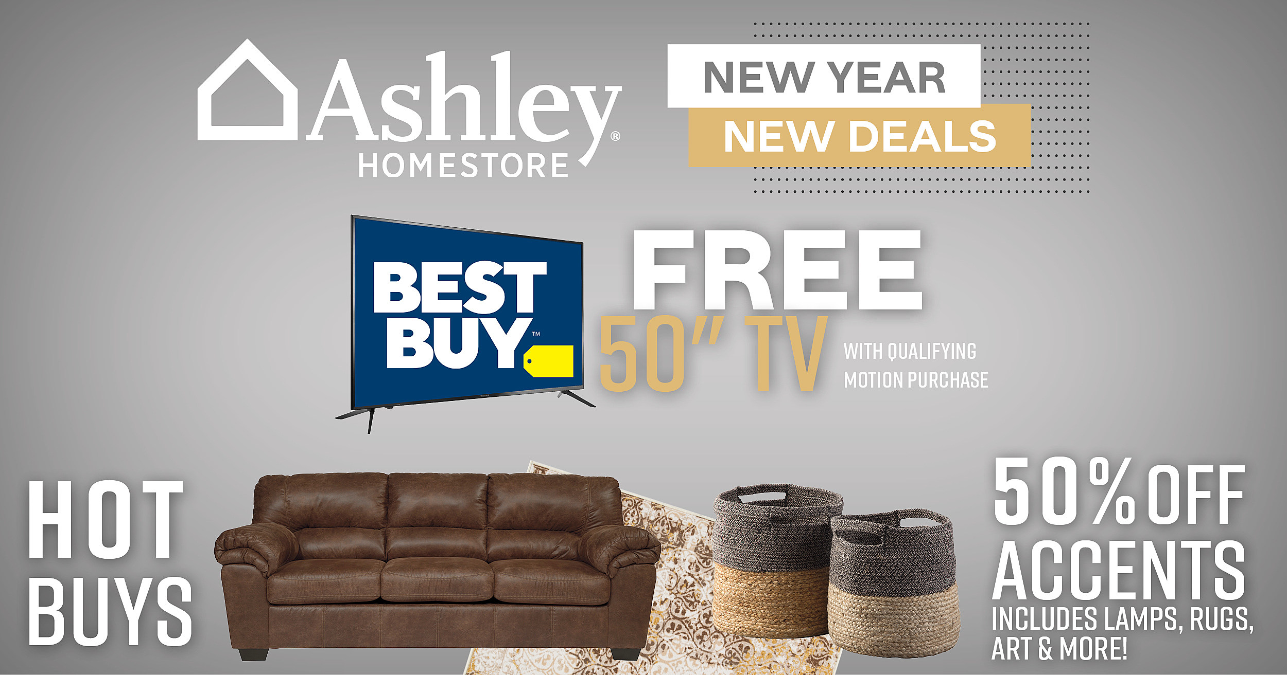 New Year New Deals Free Tvs More At Local Furniture Spot