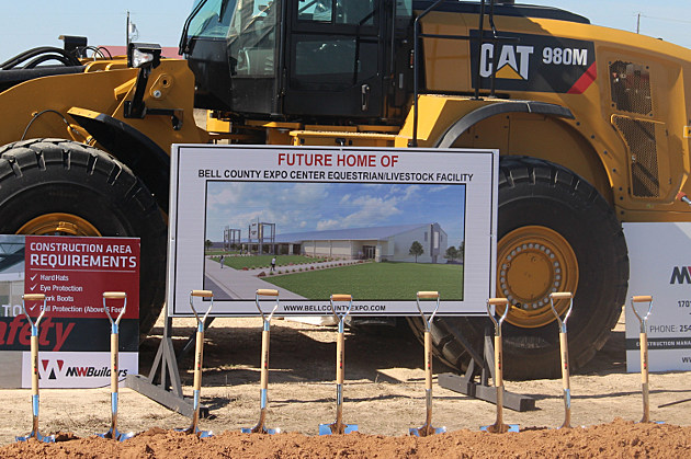 Bell County Expo Center Breaks Ground on Equestrian Facility