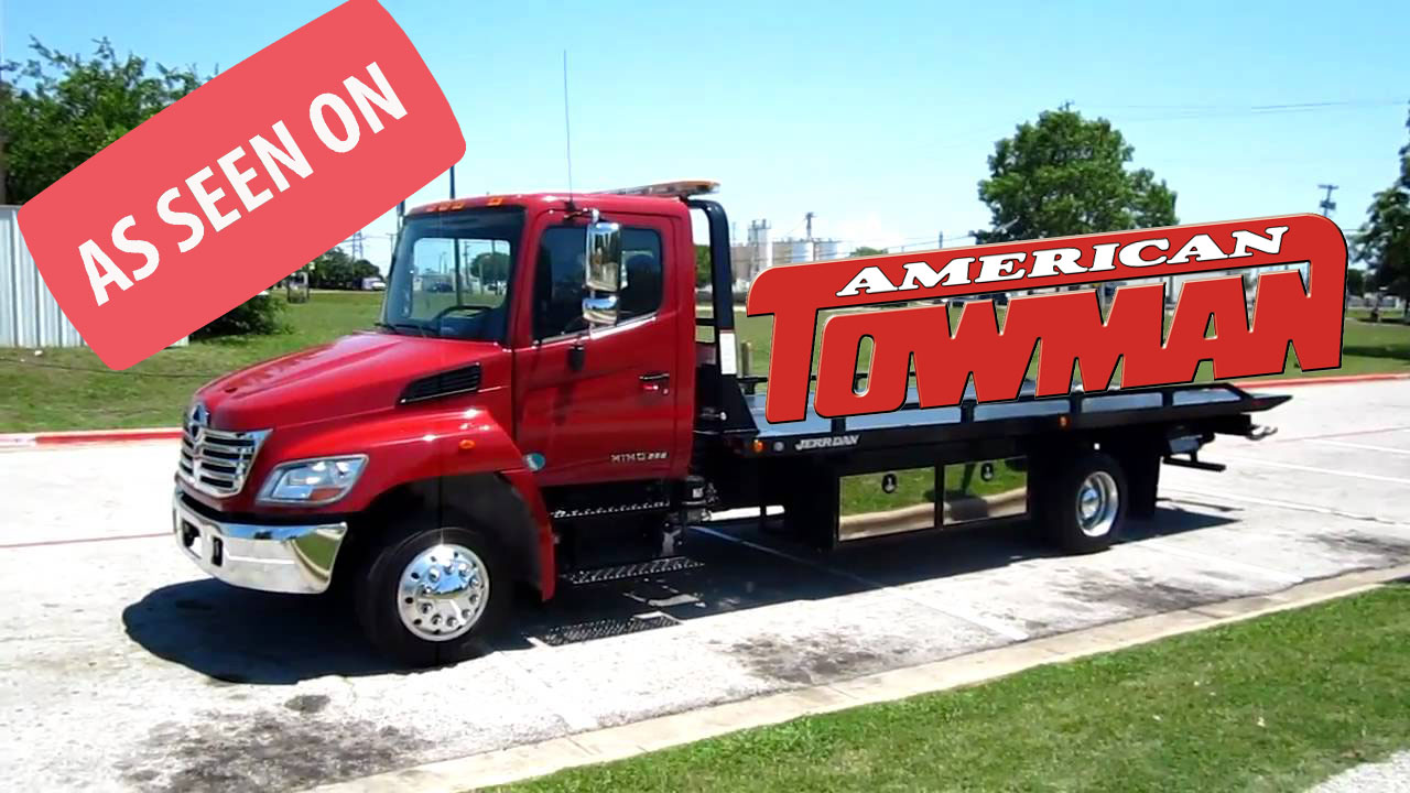 towman flatbed as seen on