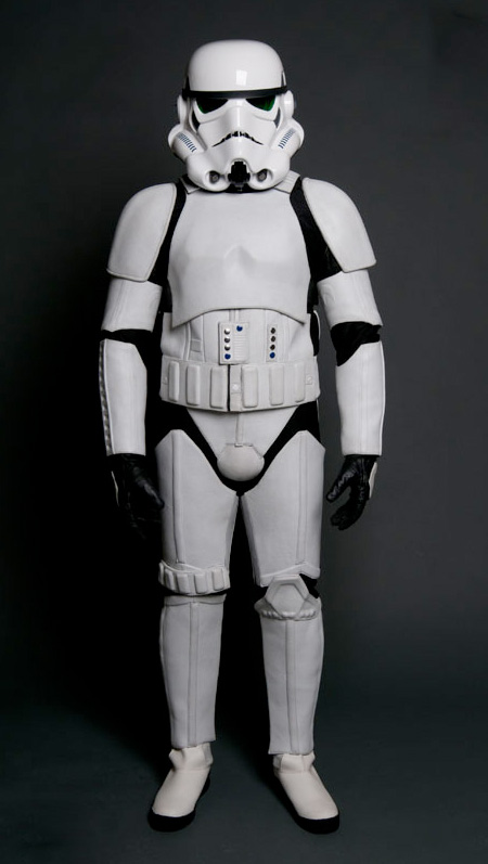 Bad Inspiration Stormtrooper Motorcycle Suit
