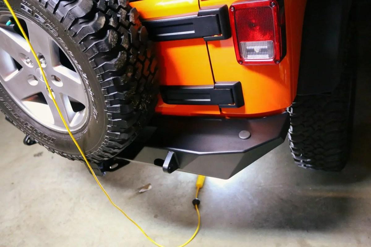Poison Spyder JK RockBrawler™ II Rear Bumper