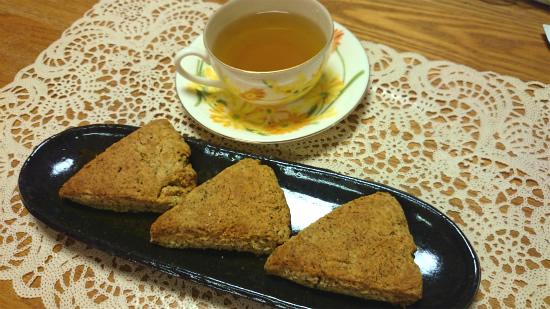 サクッと美味しい桑茶スコーン