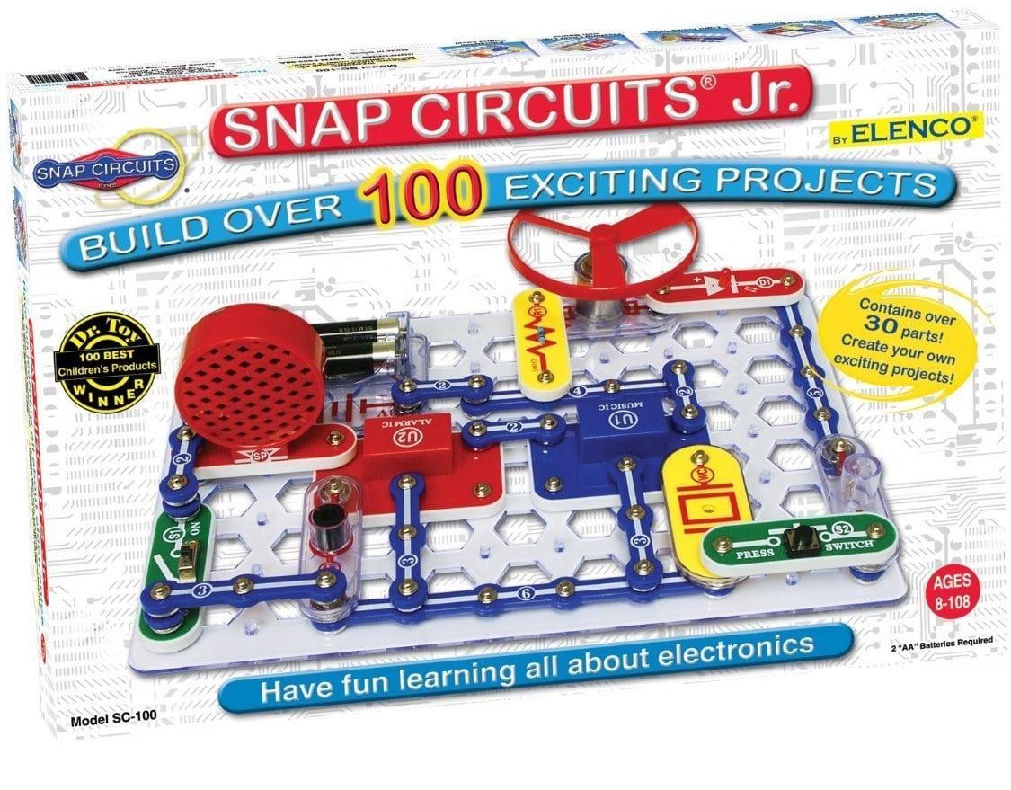 snap circuits jr 100 kit