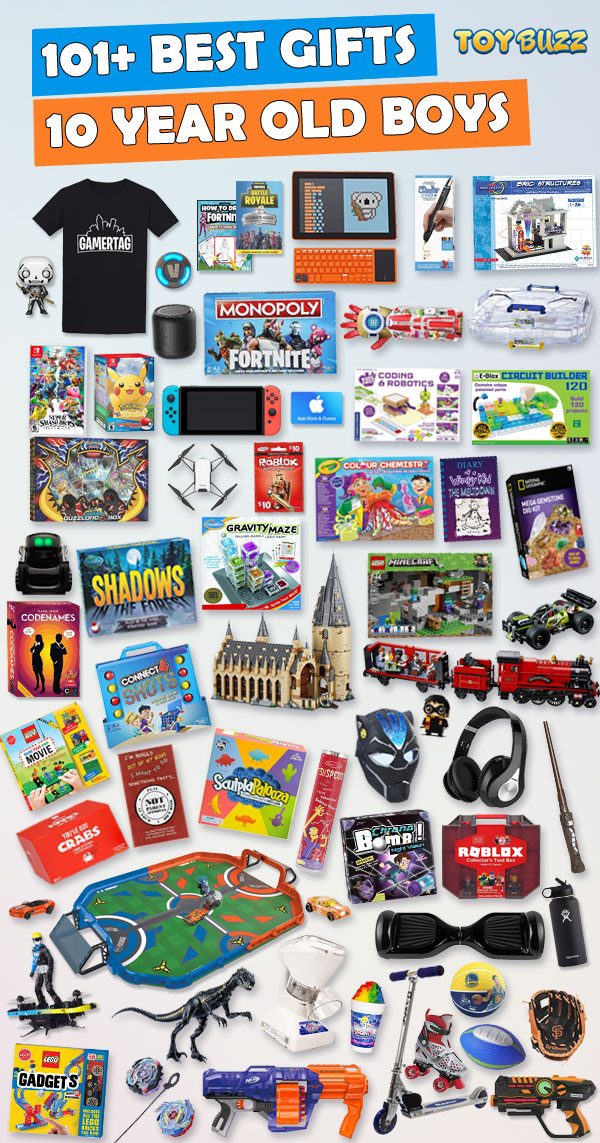 Gifts For 10 Year Old Boys 2018 toy buzz
