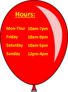 Regular Hours Balloon