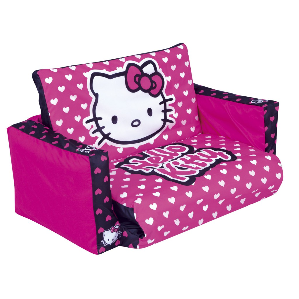 Flip Out Prices Hello Kitty Tween Flip Out Sofa Reviews Toylike