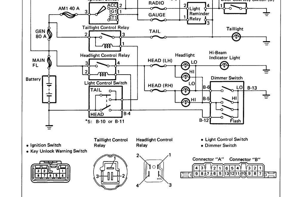 lcd wiring diagrams