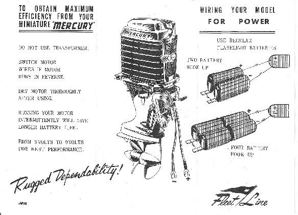 1960 80 hp mercury outboard