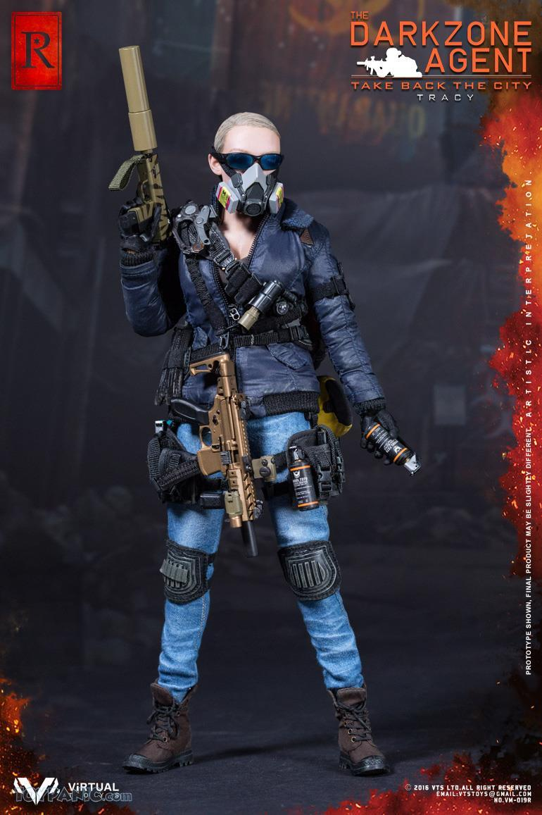 Toy Zone Toys 1 6 The Darkzone Agent Tracy R Version Only Myr678 00