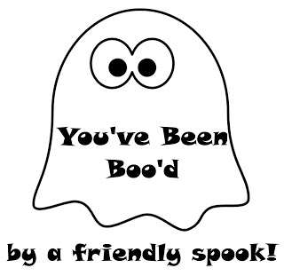 You've Been Boo'd! (FREE download!)