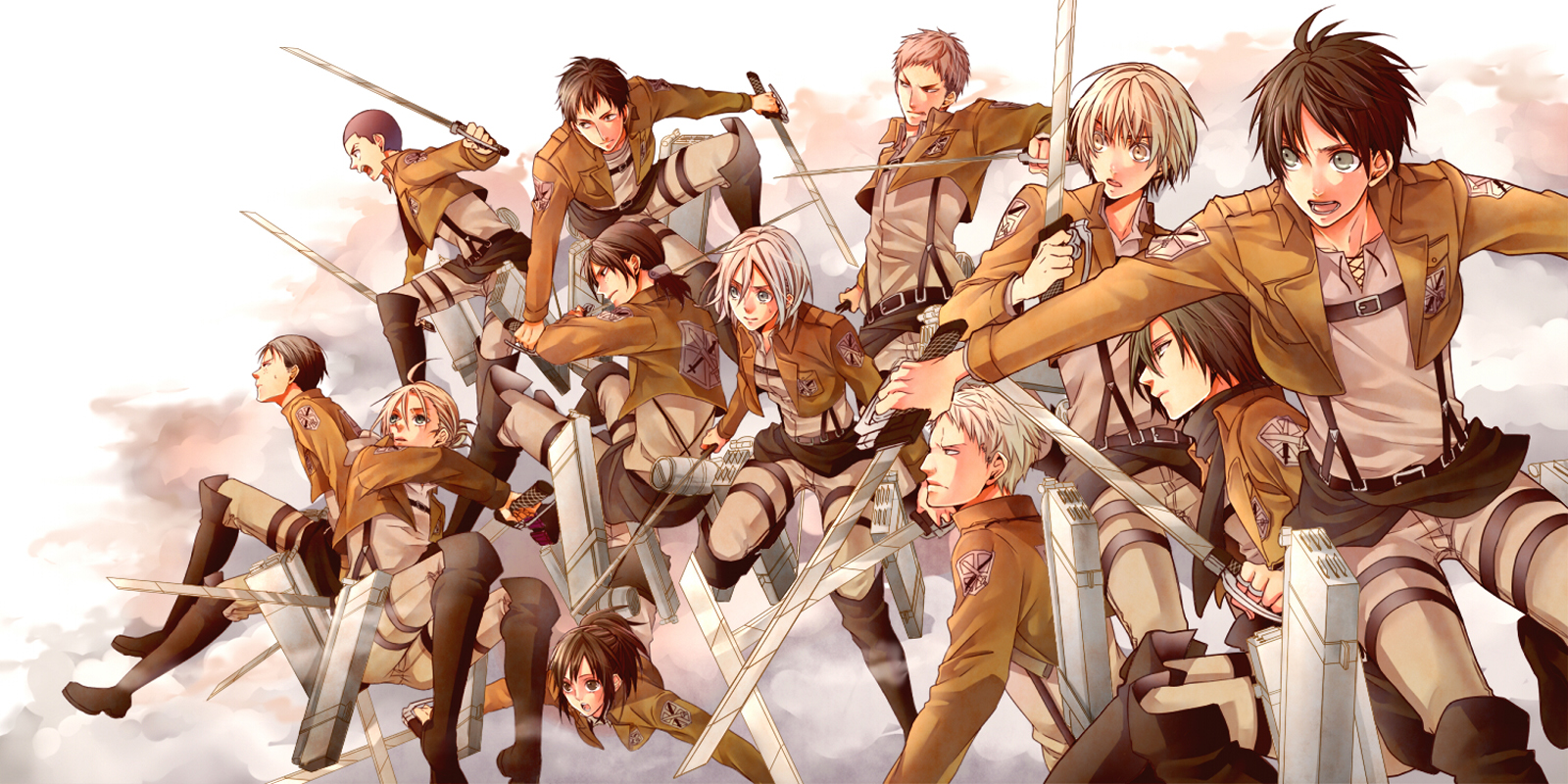 Never Fall In Love Wallpaper Attack On Titan Toy Sldrs