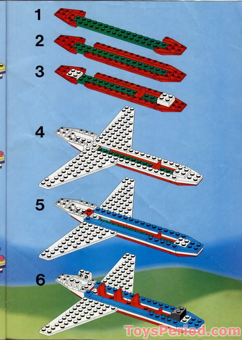 Red Hair To Brown Lego 6396 International Jetport Set Parts Inventory And