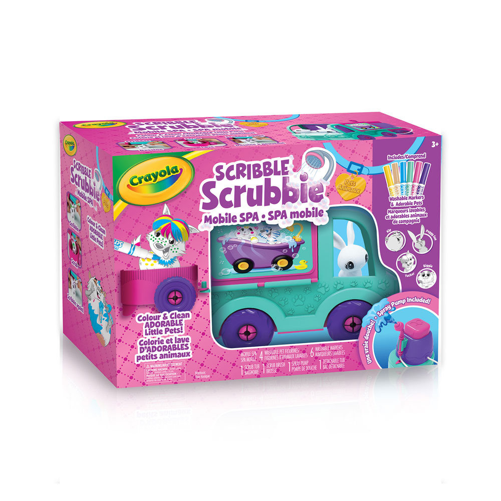 Spa Mobile Scribble Scrubbie Crayola Toys R Us Canada