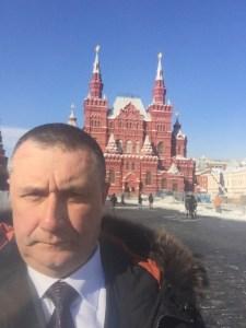 Селфи на Красной площади, г. Москва