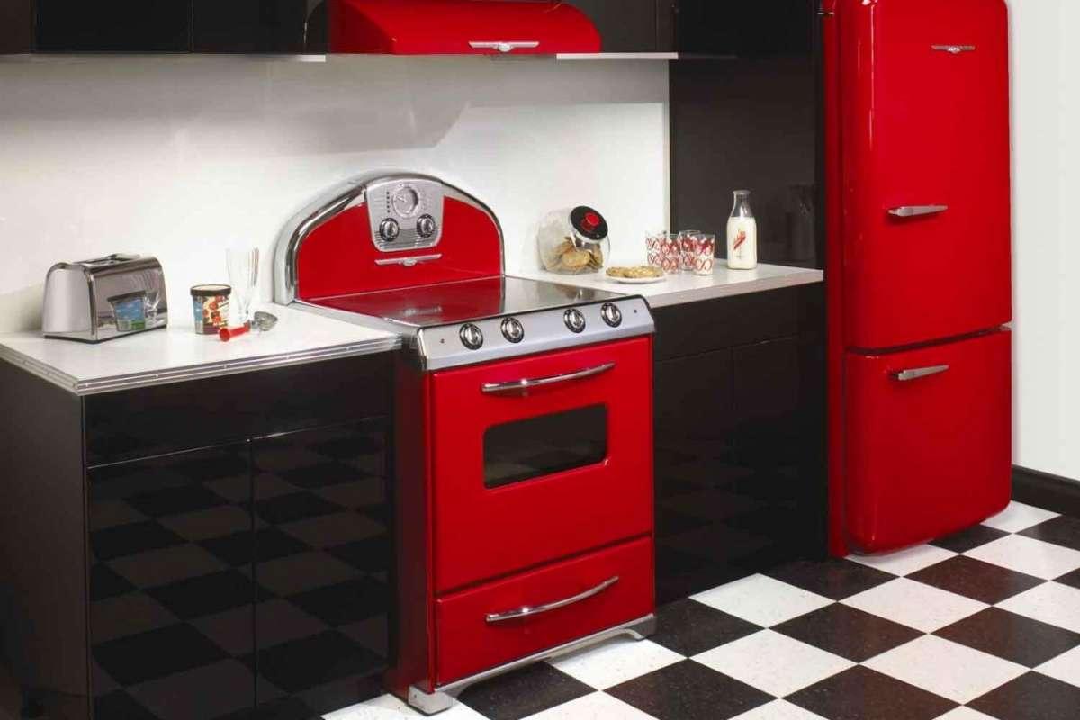 Cucina Vintage Anni 40 | De Longhi Cucina Elettrica 90x60 Inox Forno ...