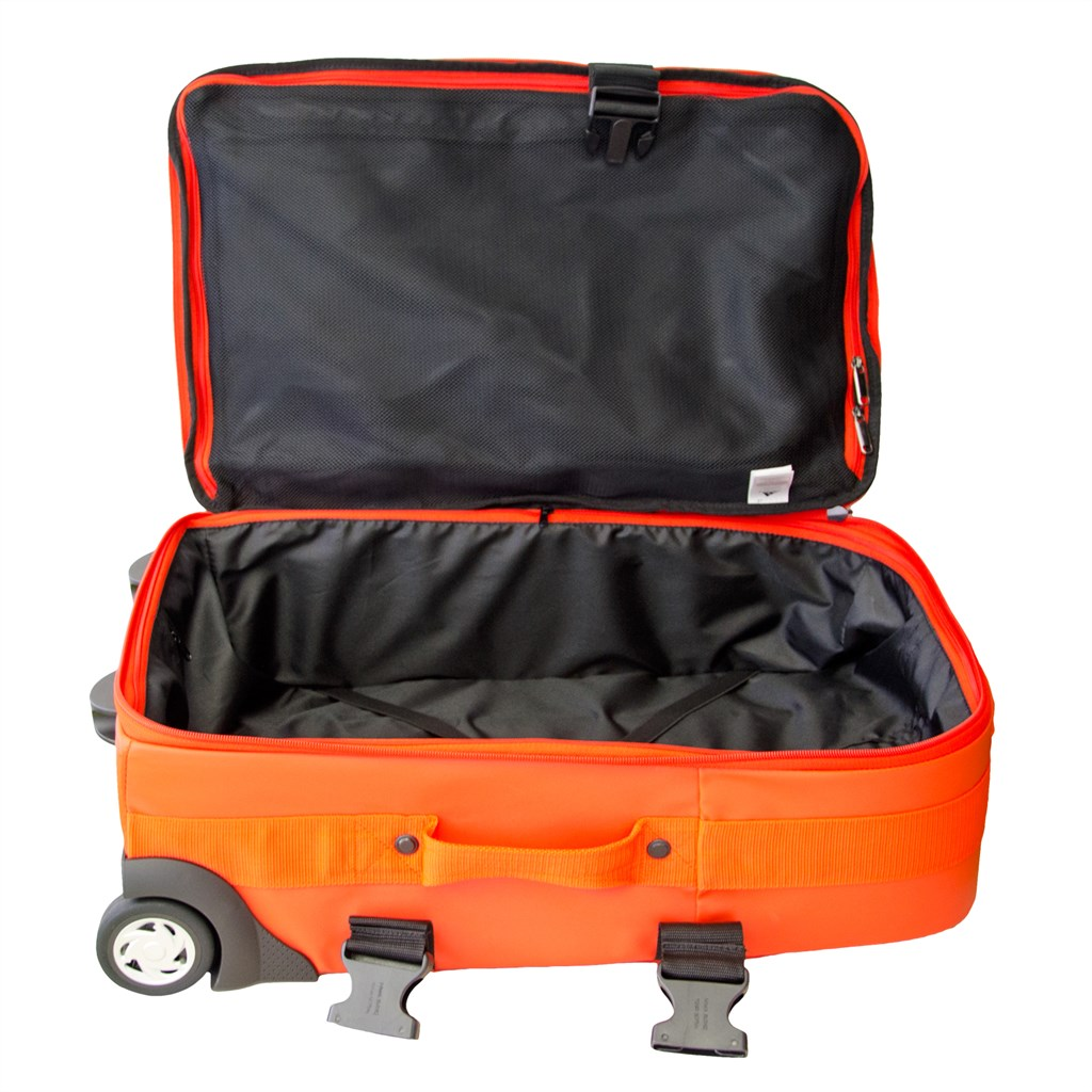 Rollkoffer Adidas Team Trolley Rollkoffer Quotgermany Quot Orange Schwarz